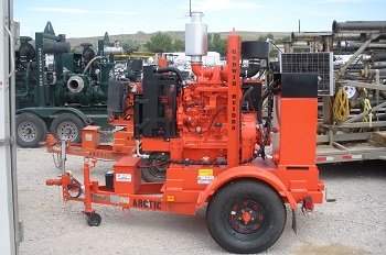 6x6 Premier Self Priming Centrifugal Fluid Pumps/Trailer Mounted
